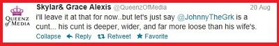 blog queenz KJo tweet 11 on johnny the greek