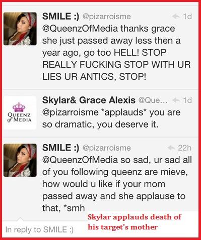 Blog queenz KJo Tweet 6 death of mom