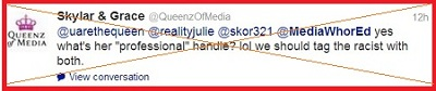 Blog queenz KJo Tweet 9 on Reality Julie